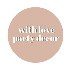 With Love Party Decor